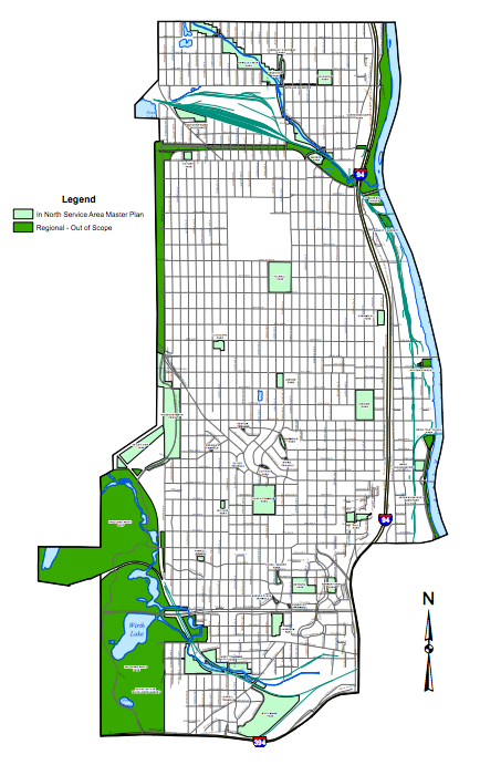 North Service Area Master Plan to transform Northside parks
