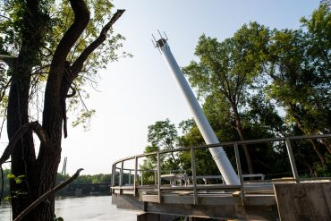 New Northside riverfront overlook scheduled to open this fall