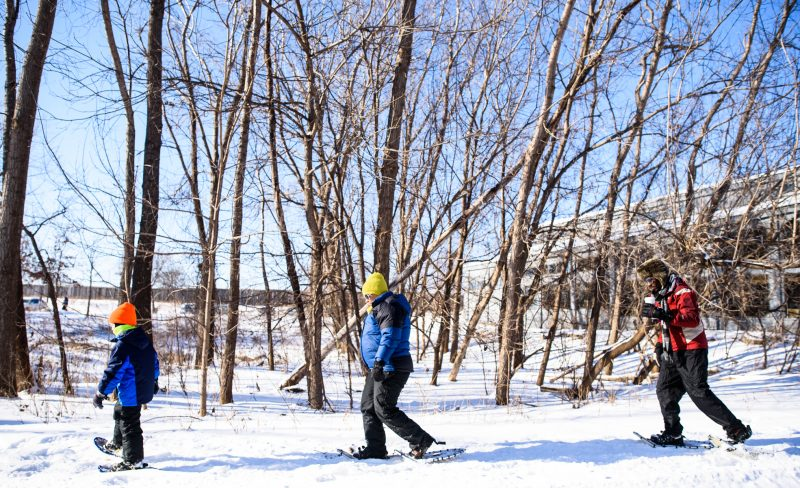 A winter to enjoy outdoor explorations