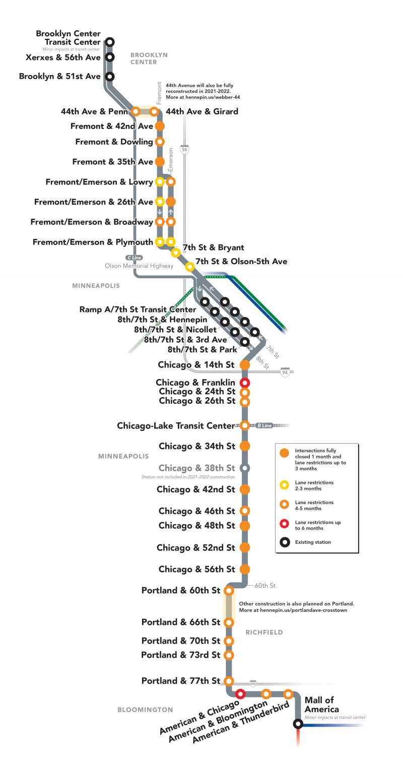 Metro D Line construction has started