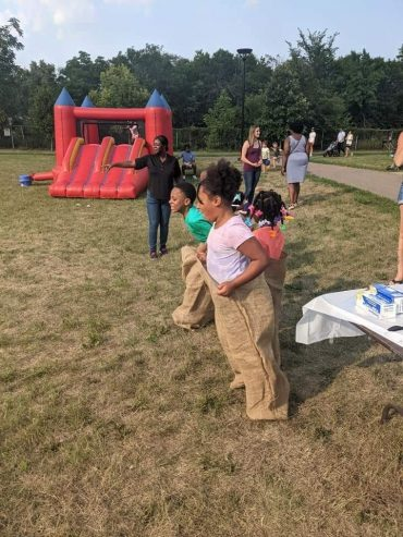 When bouncy houses, face painting and potato sack races are acts of resistance
