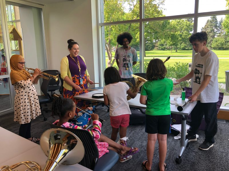 Summer camp at Hopewell Music