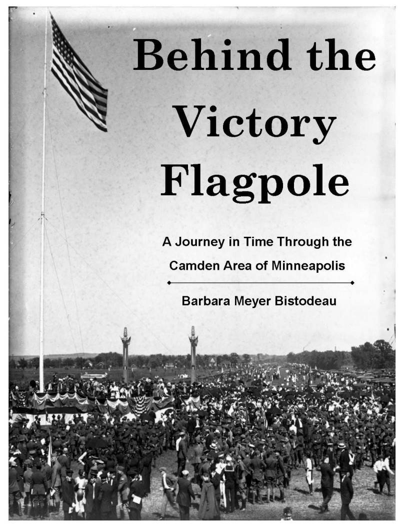 Get Behind the Victory Flagpole