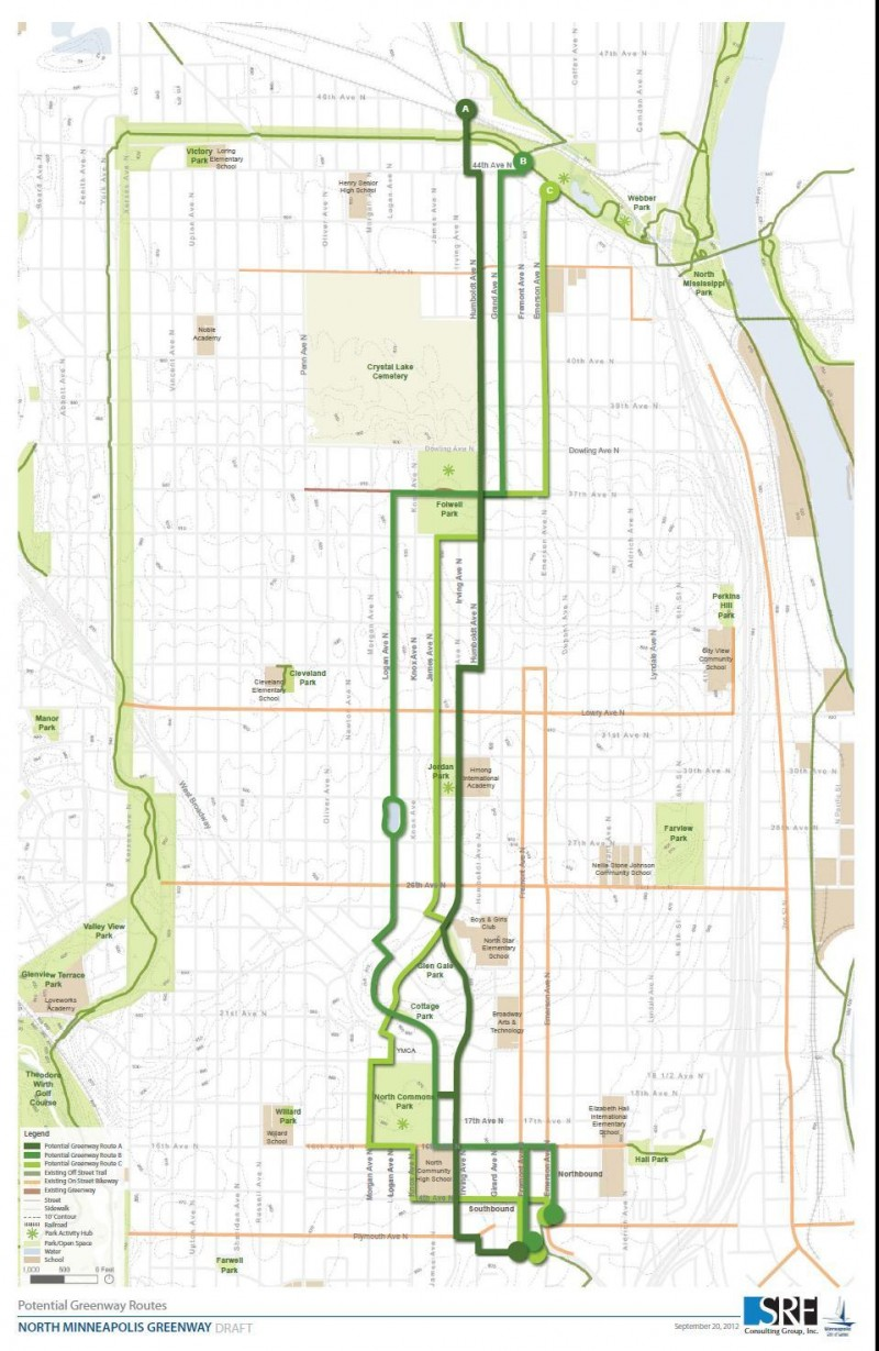 Pros and cons to the Northside Greenway