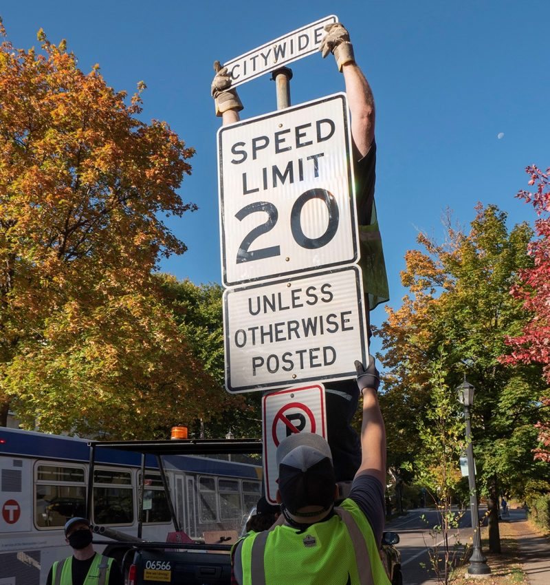 Residential speeding and the Vision Zero Project