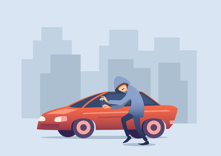 Don't make is easy for car thieves