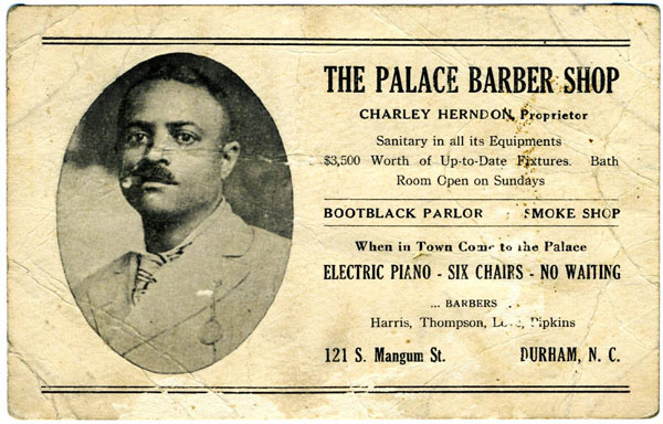 The African American barbershop