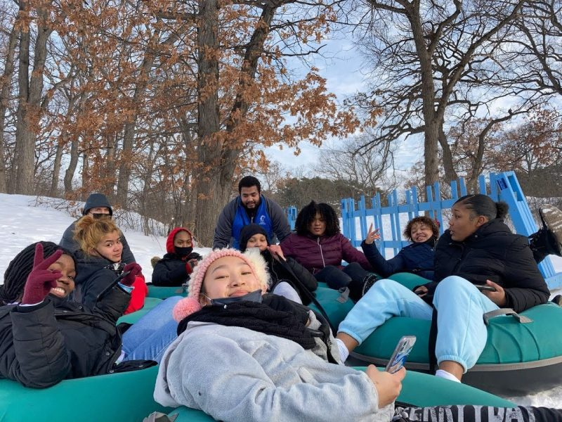 Henry High and North High students and staff continue winter fun at Theodore Wirth Park