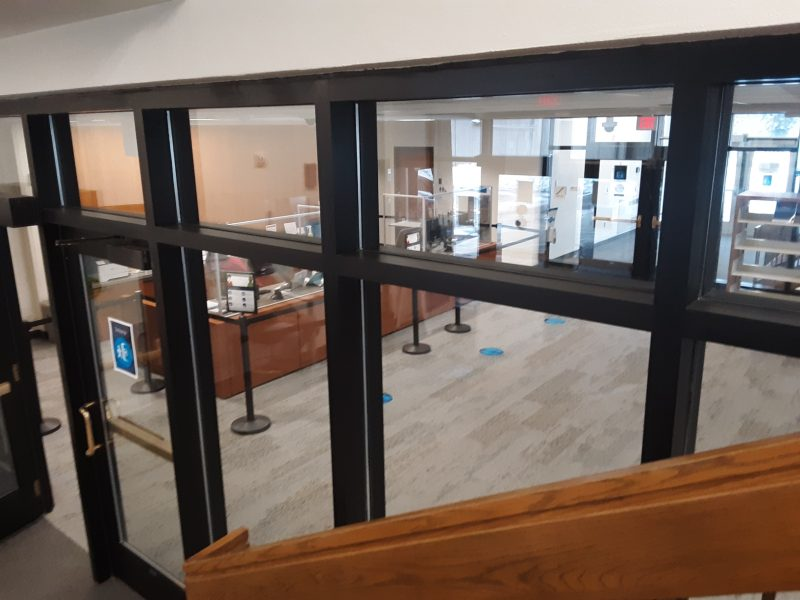Construction completed at library and food shelf