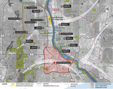 The plan for new park at Upper Harbor Terminal site Give your comments on the new river park